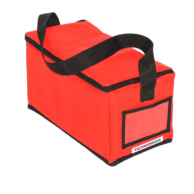 Menu taška 35x17x17 cm červená