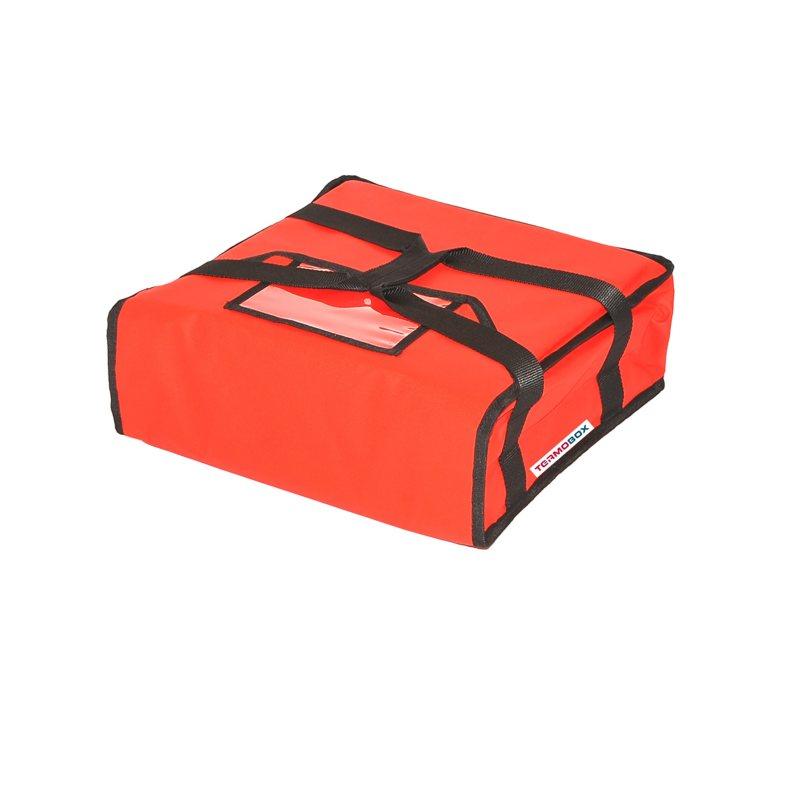 Pizza taška 35x35x12 cm nevyhřívaná červená