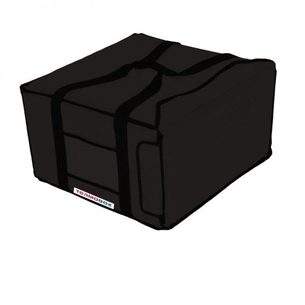 Pizza taška 45x45x25 cm nevyhřívaná černá