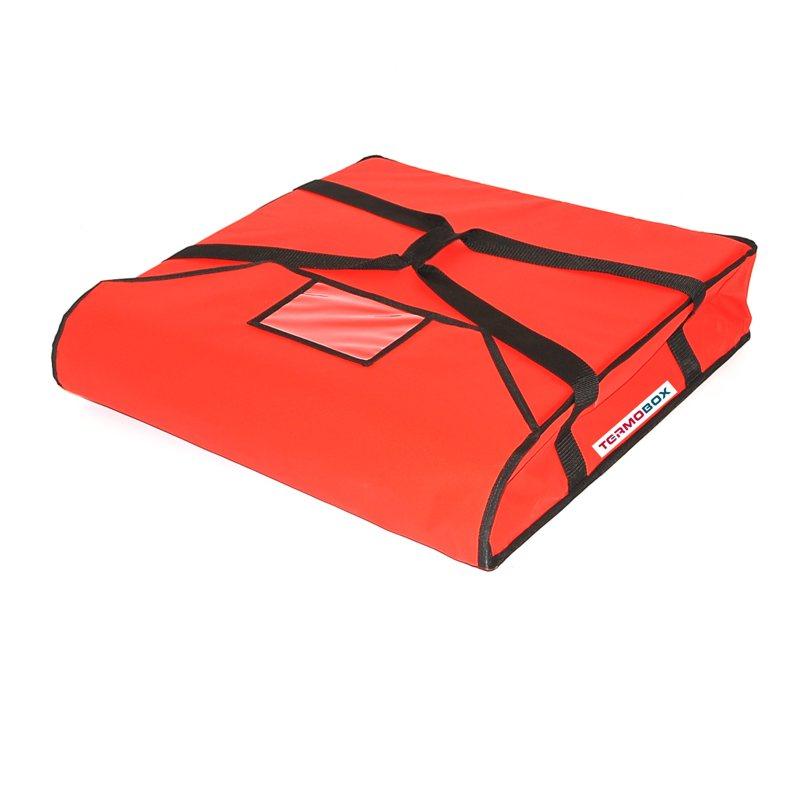 Pizza taška 55x55x12 cm nevyhřívaná červená